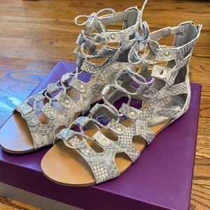 Fergie Gladiator Sandals Gently Worn Size 8.5